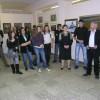 Открытие выставки молодых художников.