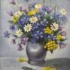 Полевые цветы. Х., масло.