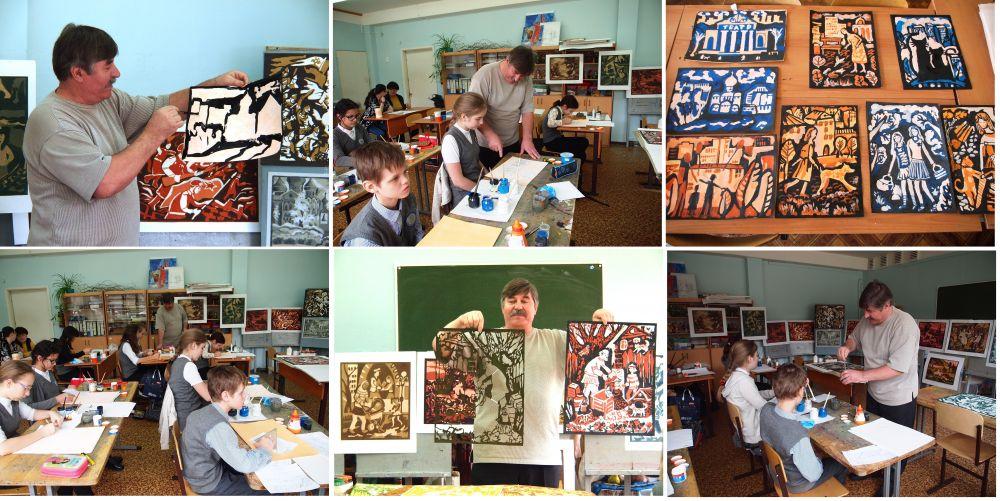 мастер -классы с Ю.А.Муруговым