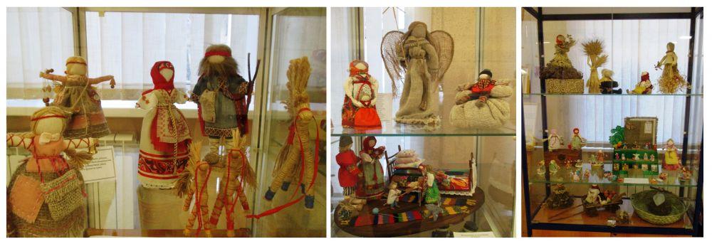 выставка кукол Елены Погодиной